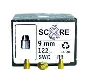 Topscore 9mm 122gr SWC x1000