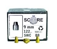 Topscore 9mm 122gr SWC x500