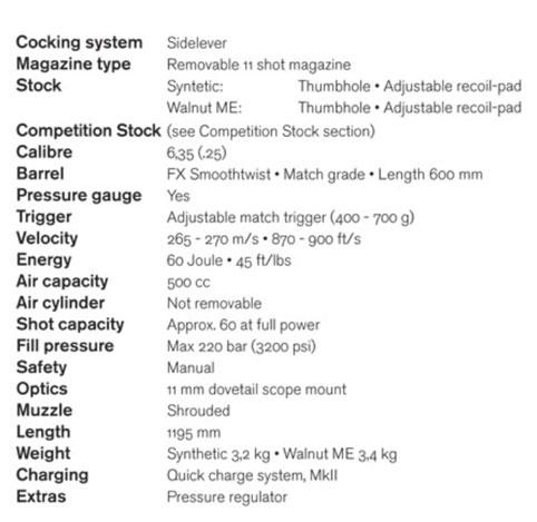 FX-400-walnut-specs