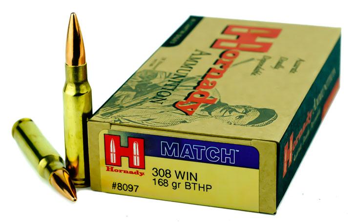 Empolotez Signature FirearmsHornady MATCH 308 Win 168gr BTHP |